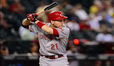 Todd Frazier cooled off significantly in July for the Cincinnati Reds.