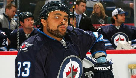 Dustin Byfuglien is part of what could be a superb defense corps on the Winnipeg Jets.