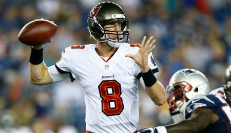 Mike Glennon led the Tampa Bay Buccaneers to a stunning victory in Week Four.