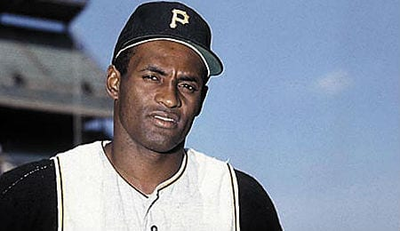 Roberto Clemente was a legend for the Pittsburgh Pirates.