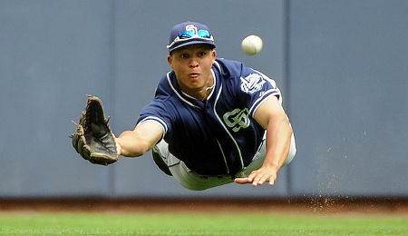 Will Venable has experienced a power drought for the San Diego Padres.