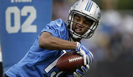 Golden Tate has been doing damage for the Detroit Lions.