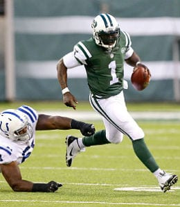 Michael Vick is now starting for the New York Jets.