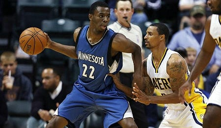 Andrew Wiggins helps bring an up-tempo game to the Minnesota Timberwolves.