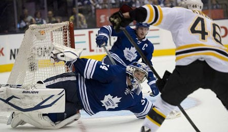 James Reimer has started to get important assignments for the Toronto Maple Leafs.