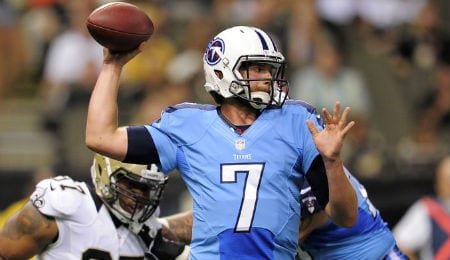 Zach Mettenberger will make his second start for the Tennessee Titans.