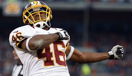 Alfred Morris should be a solid play for the Washington Redskins this weekend.