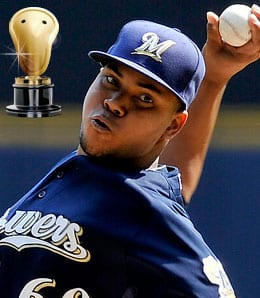 Wily Peralta was a star on the mound for the Milwaukee Brewers.