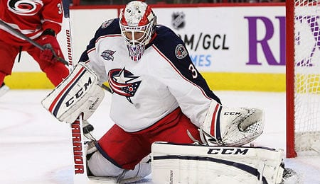 Anton Forsberg is expected to get another chance with the Columbus Blue Jackets.