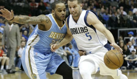 Jameer Nelson has been scoring well for the Denver Nuggets.