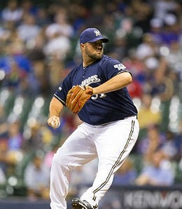 Jonathan Broxton could close for a weak Milwaukee bullpen.
