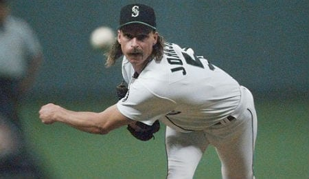 Randy Johnson spent a good chunk of his Hall of Fame career with the Seattle Mariners.