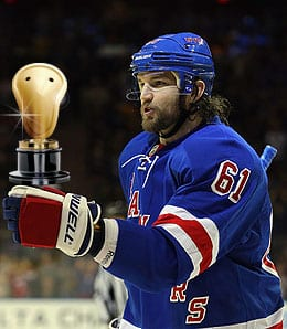 Rick Nash is finally giving the New York Rangers what they expected.