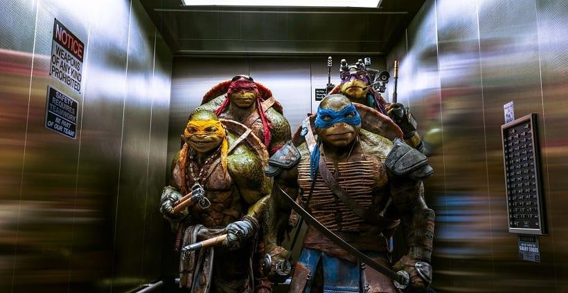 Teenage Mutant Ninja Turtles Blue-Ray