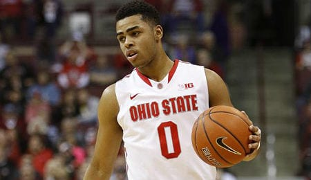 D'Angelo Russell has a chance to win some awards for the Ohio State Buckeyes.