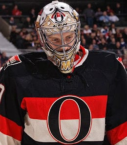 Andrew Hammond is making his mark as a rookie for the Ottawa Senators.