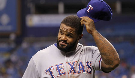 Prince Fielder is hoping to bounce back from injuries for the Texas Rangers.