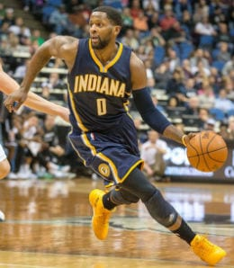 C.J. Miles came up big down the stretch for the Indiana Pacers.