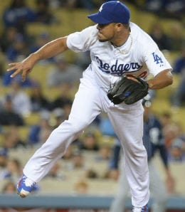 Joel Peralta is perfect as the Dodgers' closer.