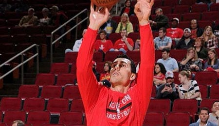 Pablo Prigioni is getting more PT for the Houston Rockets.