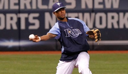 Tim Beckham has hit well lately for the Tampa Bay Rays.