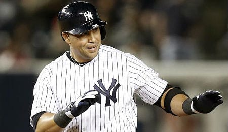 Carlos Beltran has been hitting well for the New York Yankees.