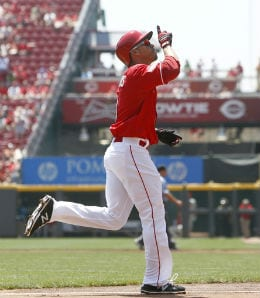 Ivan De Jesus is taking advantage of playing time opportunities for the Cincinnati Reds.
