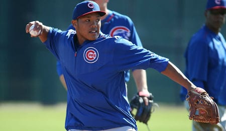Addison Russell had a controversial hit for the Chicago Cubs.