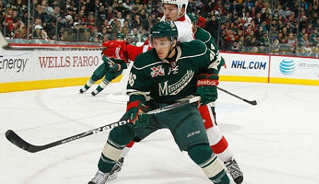 Jared Spurgeon has been generating points for the Minnesota Wild.