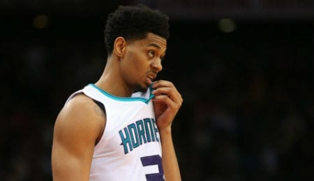 Jeremy Lamb is piling up the points for the Charlotte Hornets.