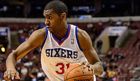 Hollis Thompson is a bright spot for the woeful Philadelphia 76ers.