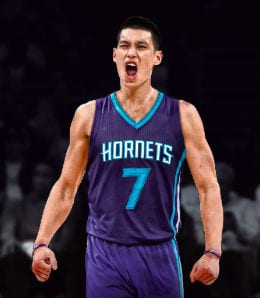 Jeremy Lin has been exploding for the Charlotte Hornets.