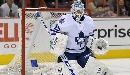Jonathan Bernier has turned things around for the Toronto Maple Leafs.
