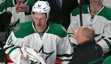 Jason Spezza is hurting for the Dallas Stars.