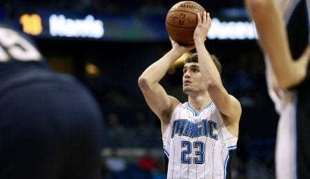 Mario Hezonja is starting to make his mark as a rookie for the Orlando Magic.