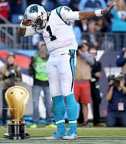 Cam Newton has graduated into a stud for the Carolina Panthers.