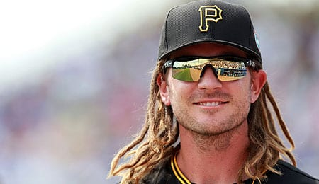 John Jaso is currently holding down first base for the Pittsburgh Pirates.