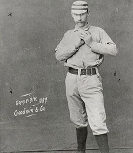 Charlie Ferguson had the first no-hitter for the Philadelphia Phillies.