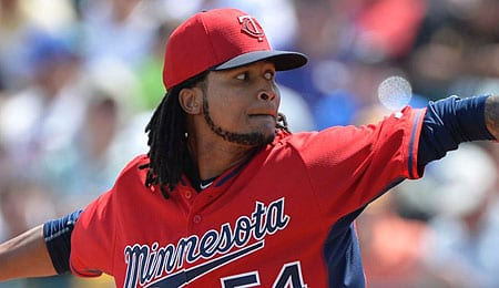 Ervin Santana has been rolling for the Minnesota Twins.