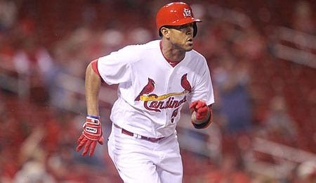 Jose Martinez has finally reached the bigs for the St. Louis Cardinals.