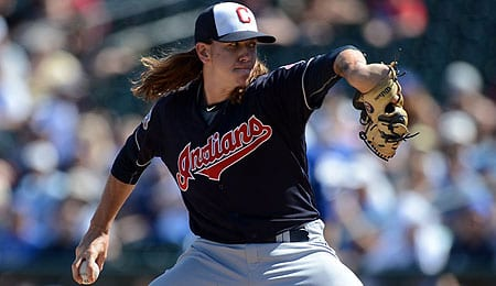 Mike Clevinger has pitched better lately for the Cleveland Indians.