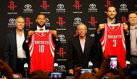 Eric Gordon could be a huge addition for the Houston Rockets.