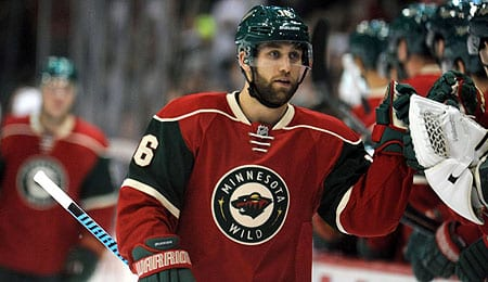 Jason Zucker is racking up the assists for the Minnesota Wild.