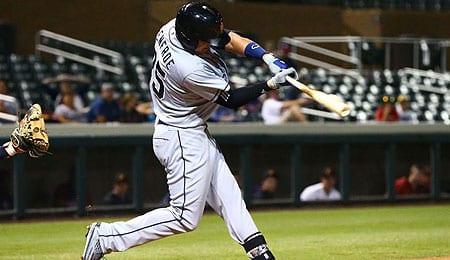 Hunter Renfroe sure impressed after being recalled by the San Diego Padres.