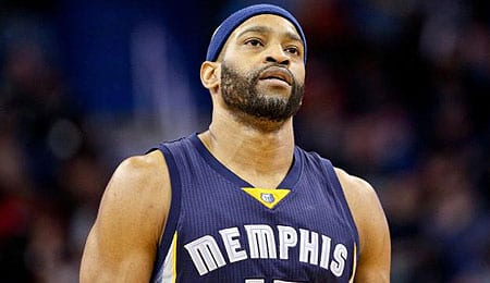 Vince Carter is enjoying a nice renaissance with the Memphis Grizzlies.