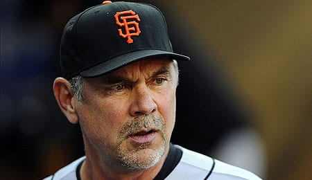 Bruce Bochy has become a legend for the San Francisco Giants.