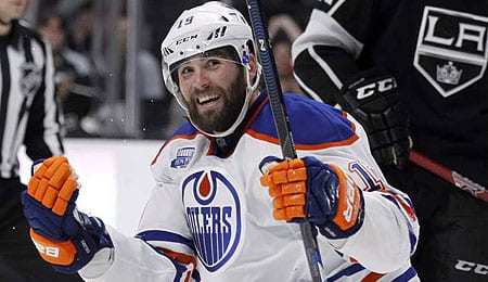 Patrick Maroon has really turned into a goal scorer since coming to the Edmonton Oilers.