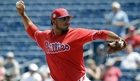 Joaquin Benoit has taken over as the closer of the Philadelphia Phillies.