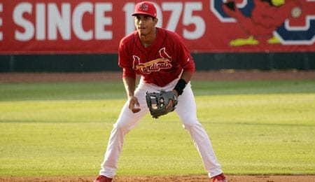 Oscar Mercado is enjoying a breakout in the minors for the St. Louis Cardinals.