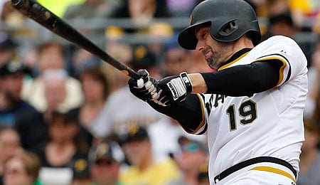 Chris Stewart will get more PT for the Pittsburgh Pirates.